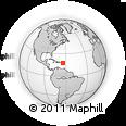 Outline Map of Saint Croix