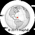 Outline Map of Saint Thomas