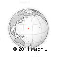 Outline Map of Wake Island