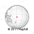 Outline Map of Wallis and Futuna