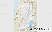 Classic Style Map of West Bank