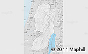 Silver Style Map of West Bank