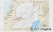Classic Style Panoramic Map of West Bank