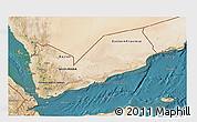 Satellite 3D Map of Yemen