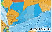 Political Map of Yemen
