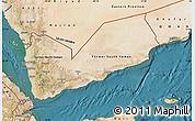 Satellite Map of Yemen