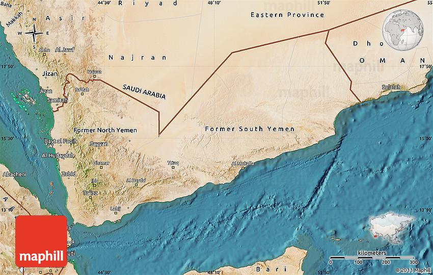 Satellite Map of Yemen on detailed map of yemen, road map of yemen, outline map of yemen, terrain map of yemen, political map of yemen, physical map of yemen, topographic map of yemen,
