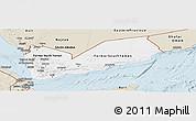 Classic Style Panoramic Map of Yemen