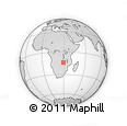 Outline Map of Mkushi