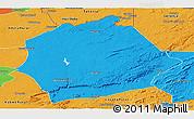 Political Panoramic Map of Mkushi