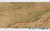 Satellite Panoramic Map of Mkushi