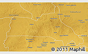 Physical 3D Map of Mumbwa