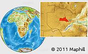 Physical Location Map of Mumbwa