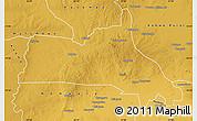 Physical Map of Mumbwa