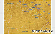 Physical 3D Map of Copperbelt