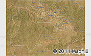 Satellite 3D Map of Copperbelt