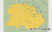 Savanna Style 3D Map of Copperbelt