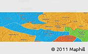 Political Panoramic Map of Chililbombwe