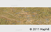 Satellite Panoramic Map of Chililbombwe