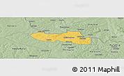 Savanna Style Panoramic Map of Chililbombwe