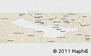 Classic Style Panoramic Map of Chingola