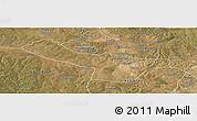 Satellite Panoramic Map of Chingola