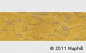 Physical Panoramic Map of Kalulishi