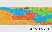 Political Panoramic Map of Kalulishi