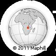 Outline Map of Kitwe