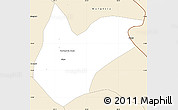 Classic Style Simple Map of Kitwe