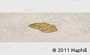 Satellite Panoramic Map of Luanshya, lighten
