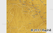 Physical Map of Copperbelt
