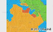 Political Map of Copperbelt