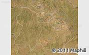 Satellite Map of Copperbelt