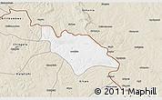 Classic Style 3D Map of Mufulira