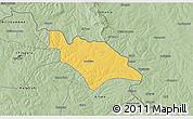 Savanna Style 3D Map of Mufulira