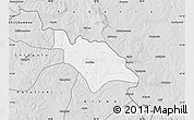 Silver Style Map of Mufulira