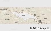 Classic Style Panoramic Map of Mufulira
