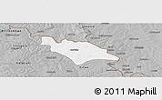 Gray Panoramic Map of Mufulira