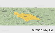 Savanna Style Panoramic Map of Mufulira