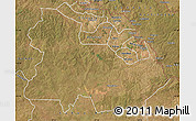 Satellite Map of Ndola Rural