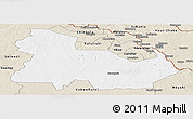 Classic Style Panoramic Map of Ndola Rural