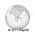 Outline Map of Copperbelt