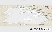 Classic Style Panoramic Map of Copperbelt