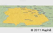 Savanna Style Panoramic Map of Copperbelt