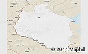 Classic Style Panoramic Map of Mansa