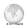 Outline Map of Luapula