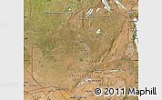 Satellite Map of Zambia