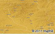 Physical Panoramic Map of Kasempa