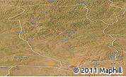 Satellite Panoramic Map of Kasempa